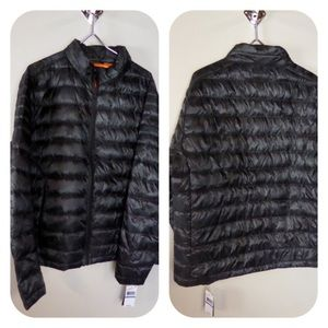 Michael Kors Camo Quilted Puffer Jacket Down Fill